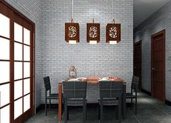 中式餐厅家具挑选标准 就是这么轻松