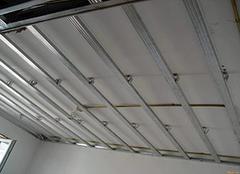 施工轻钢龙骨吊顶的关键点有哪些 步骤方法看这里