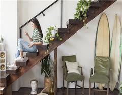 如何利用楼梯间 这样的设计令人眼前一亮