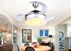客厅装吊扇灯的优点 选择前必看