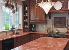 厨房台面应该选大理石还是人造石 对比一下就知晓
