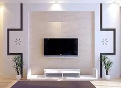 选择电视背景墙的材质的方案有哪些 技巧很重要