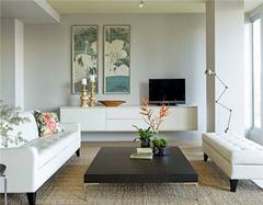 客厅采用白墙的好处有哪些 白墙也可以很出彩