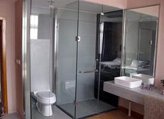浴室玻璃门如何清洗好 绝了