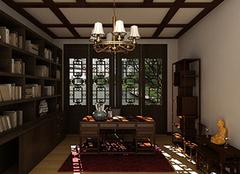如何才能将书房打造成中式风格 装饰特点帮你忙