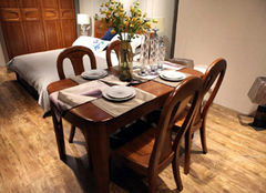 哪种材质的实木餐桌比较好 你会选择哪个