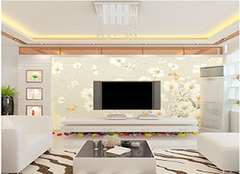 大理石电视背景墙施工要点 打造高大上的客厅