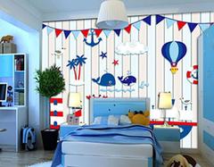 地中海儿童房设计法则有哪些 给孩子良好的睡眠空间