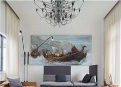 客厅装饰画怎么选择好 有哪些禁忌呢