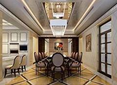 别墅餐厅如何装修好 让餐厅也富丽堂皇