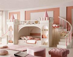 儿童公主房装修准则有哪些 打造童话世界的入口