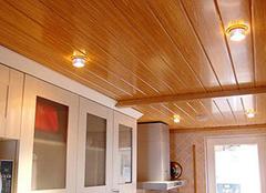 桑拿板吊顶施工步骤解析 从购买到安装结束
