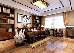 中式书房装修技巧有哪些 品质生活从书房开始