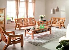 实木沙发哪种颜色好 你喜欢哪一种