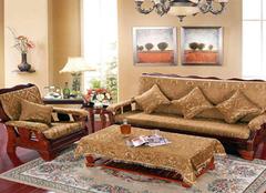 客厅实木沙发摆放有哪些形态 你家是怎么摆的