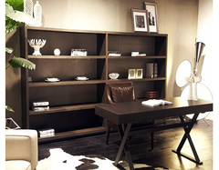 简约风书房装修要点有哪些 删繁就简的阅读空间