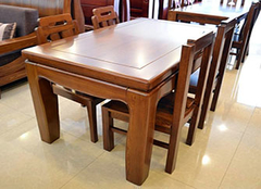  实木餐桌椅常见的材料有哪些 做好攻略