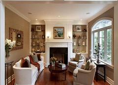  美式壁炉背景墙风格有哪些 既要暖又要美