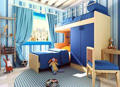 儿童房室内装修注意的事项 健康成长不能少