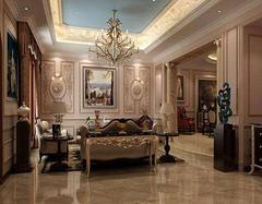 法式风格客厅设计特点有哪些 客厅也可以如此优雅