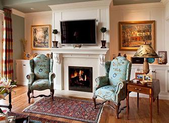 美式壁炉的特点都有哪些 简练的造型也能很保暖