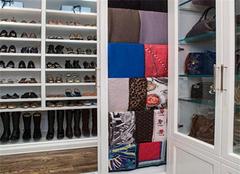 衣帽间鞋柜设计案例 巧用衣帽间空间收纳鞋子