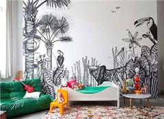 艺术墙手绘设计应该注意哪些 怎么做好呢