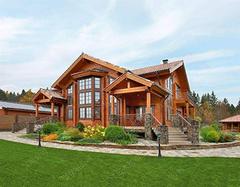 木屋别墅的设计方案有哪些 静谧自然的乡村情调