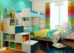 儿童房家具选购要考虑哪些方面 为孩子营造安全的空间
