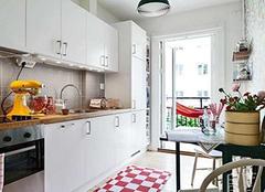 怎么设计小户型厨房显大 15m²以下适用