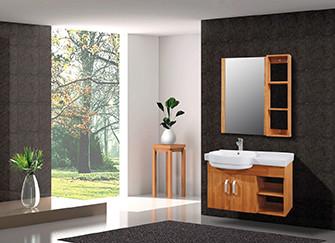 浴室柜材质选购要点简析  让浴室彰显品位