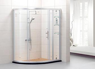 淋浴房玻璃与顶框安装流程解析 小细节也要做的更好