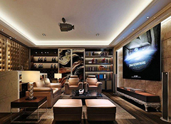 家庭影音室的设计小要诀 给你最舒适的享受