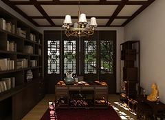 如何为家居带来舒适书房装修 静心去读一本好书