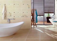 卫生间地砖选择要点 让卫浴美观更安全