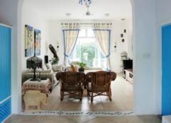 田园风格的客厅家具有哪些 让你爱上田园风