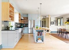 开放式厨房装修设计要点 美观实用是最好