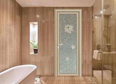 几款卫生间门经典搭配 装点你的卫浴空间