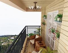 阳台墙面怎么装修合理 三大技能赶紧get