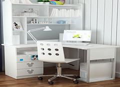 转角书桌的选购技巧有哪些 有技巧才能选到好书桌