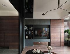 电视背景墙影响客厅效果 三种电视背景墙类型介绍