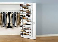 如何挑选门后鞋架 方便出行的好物