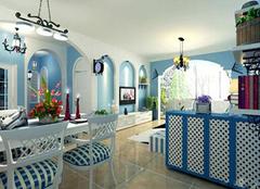 地中海风格装修特点解析 给你家中一片蓝