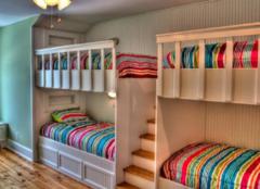 双层床怎么样 为孩子创造灵活的阶梯