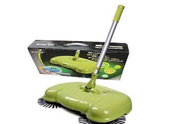 手推式扫地吸尘器好用吗 可以代替6个保洁工!