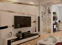 电视背景墙材料主要有哪些 给你多种选择