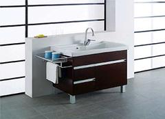 选购浴室柜时需检查哪些细节 配件很关键