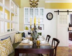 常见的家居卡座的类型介绍 卡座节省空间又舒适