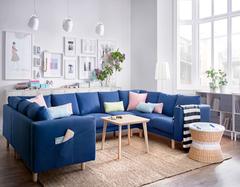 沙发摆放的多组合方式 原来沙发还能这么摆放