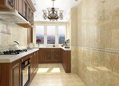 厨房地砖选择的技巧 实用性打满分